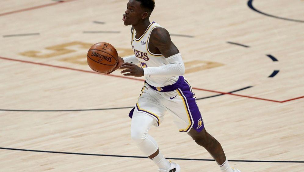Bester Lakers-Werfer mit 28 Punkten: Dennis Schröder - Bildquelle: AFPGETTY IMAGES SIDMATTHEW STOCKMAN
