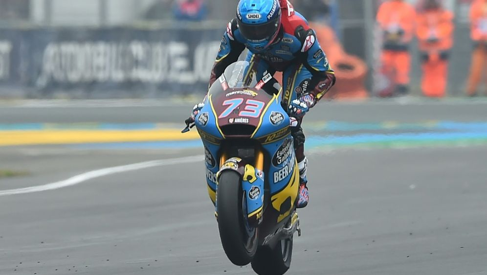 Holt seinen 300. Sieg für Honda: Marc Marquez - Bildquelle: AFPSIDJEAN-FRANCOIS MONIER