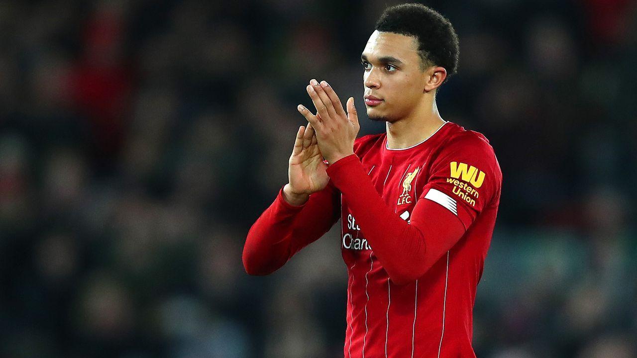 Platz 15 - Trent Alexander-Arnold (FC Liverpool) - Bildquelle: 2020 Getty Images