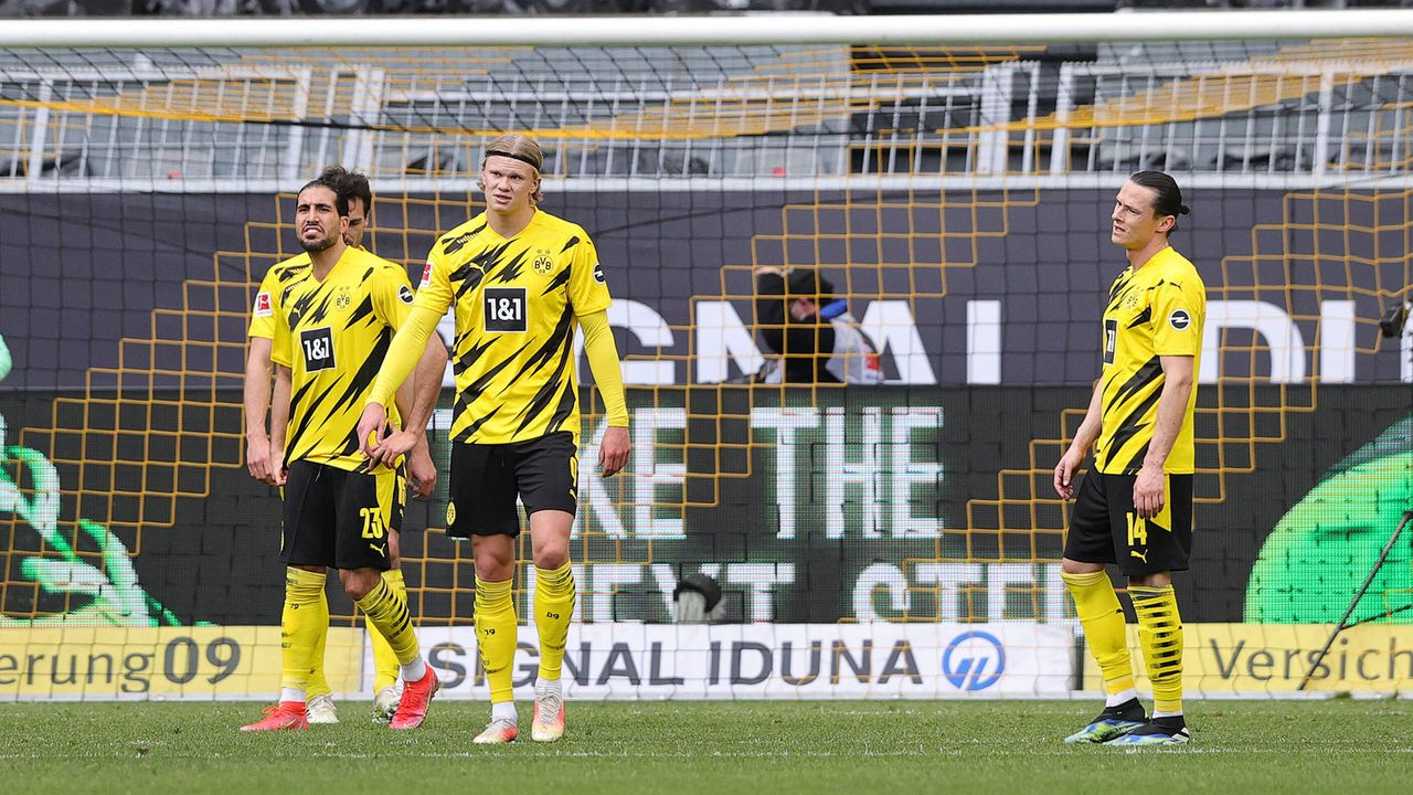 5. Platz: Borussia Dortmund (43 Punkte) - Bildquelle: Imago Images