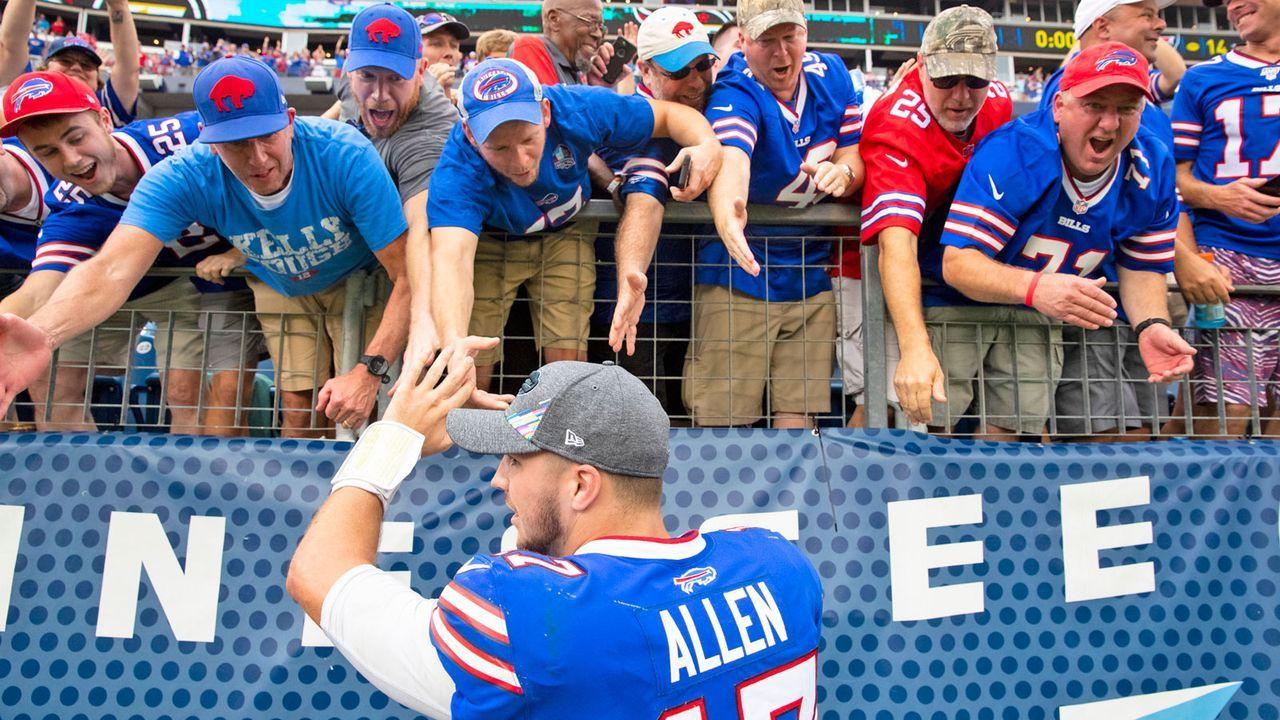 AFC: 5. Buffalo Bills (aktuell 6-2) - Bildquelle: 2019 Getty Images