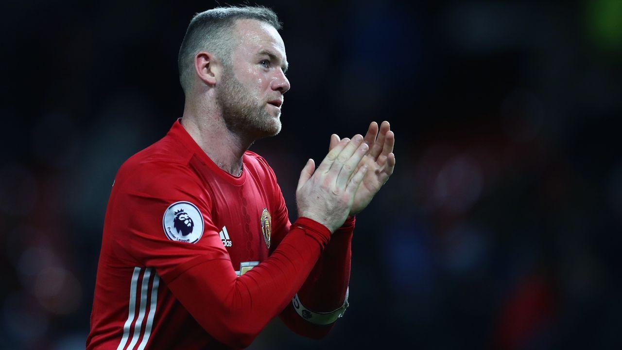 Platz 7 - Wayne Rooney (Manchester United) - Bildquelle: 2017 Getty Images