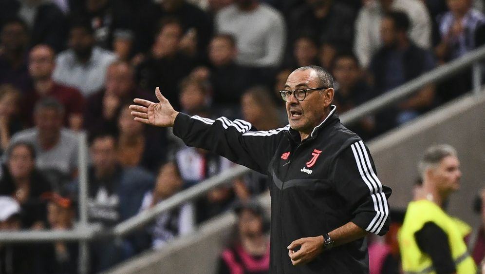 Juve-Trainer Maurizio Sarri soll sich erholen - Bildquelle: AFPSIDJONATHAN NACKSTRAND