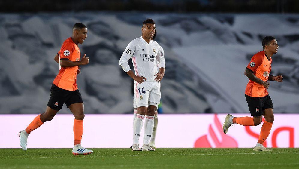 Donezk schockt Real Madrid: Bereits 3:0 zur Halbzeit - Bildquelle: AFPSIDGABRIEL BOUYS