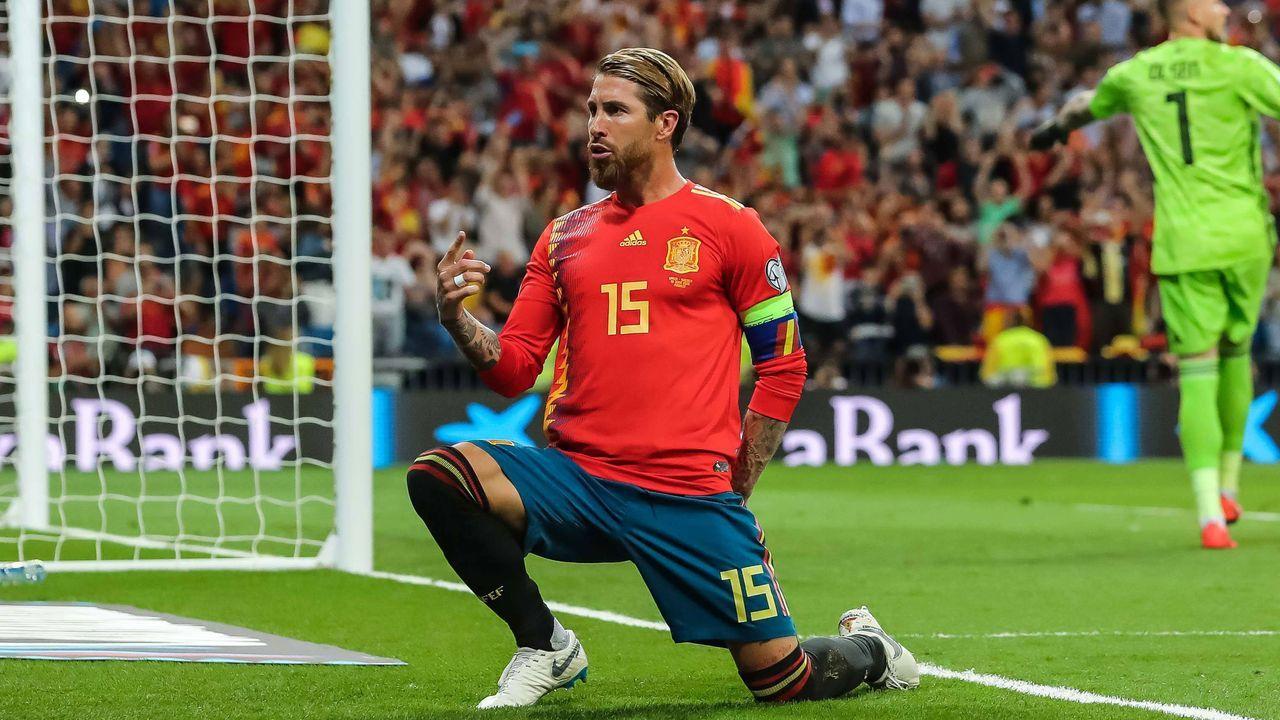 Platz 2: Sergio Ramos (Spanien) - Bildquelle: imago images / Bildbyran