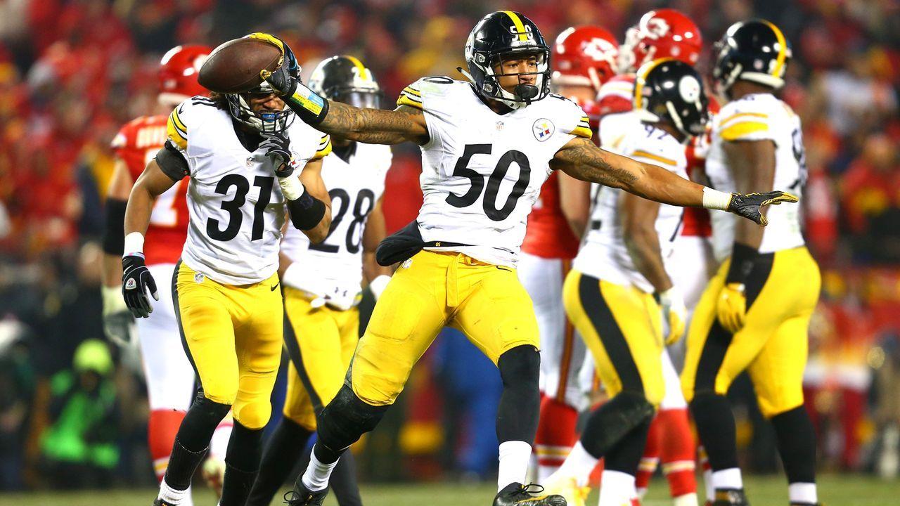 Platz 2 (geteilt): Pittsburgh Steelers - Bildquelle: 2017 Getty Images