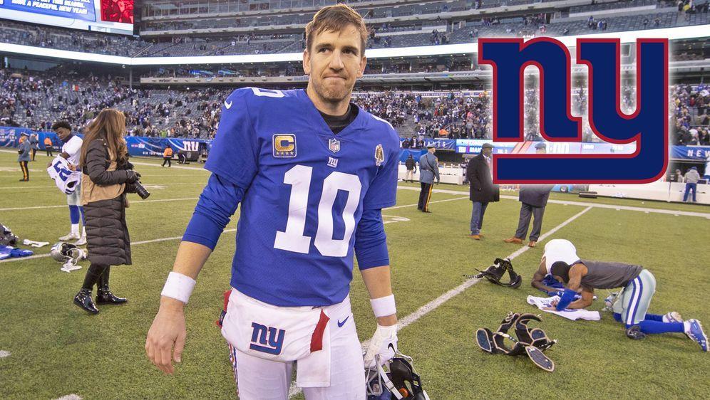 Eli Manning hat sich zur Quarterback-Situation bei den New York Giants geäuß... - Bildquelle: imago