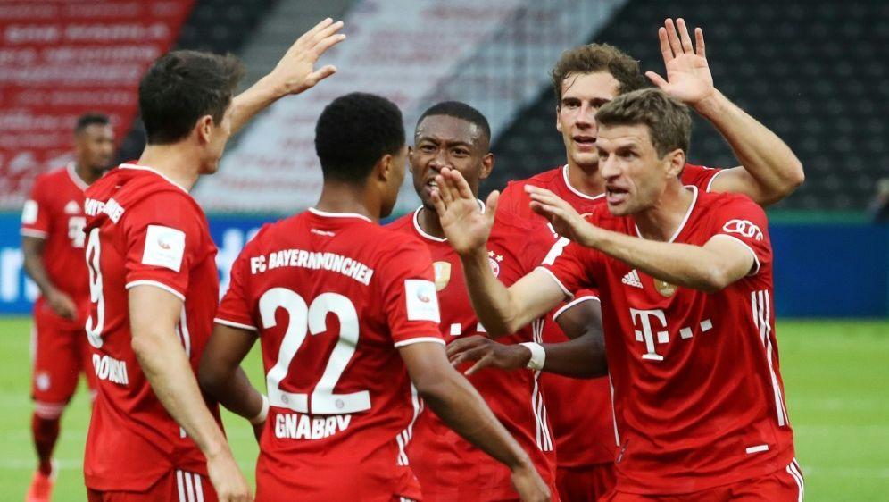 Bayern gewinnt zum 20. Mal den DFB-Pokal - Bildquelle: FIROFIROSID