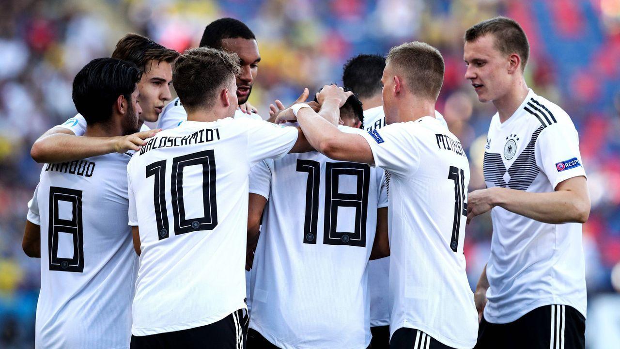 U21-EM: Einzelkritik der DFB-Spieler im Halbfinale gegen Rumänien - Bildquelle: imago sportfotodienst 2019