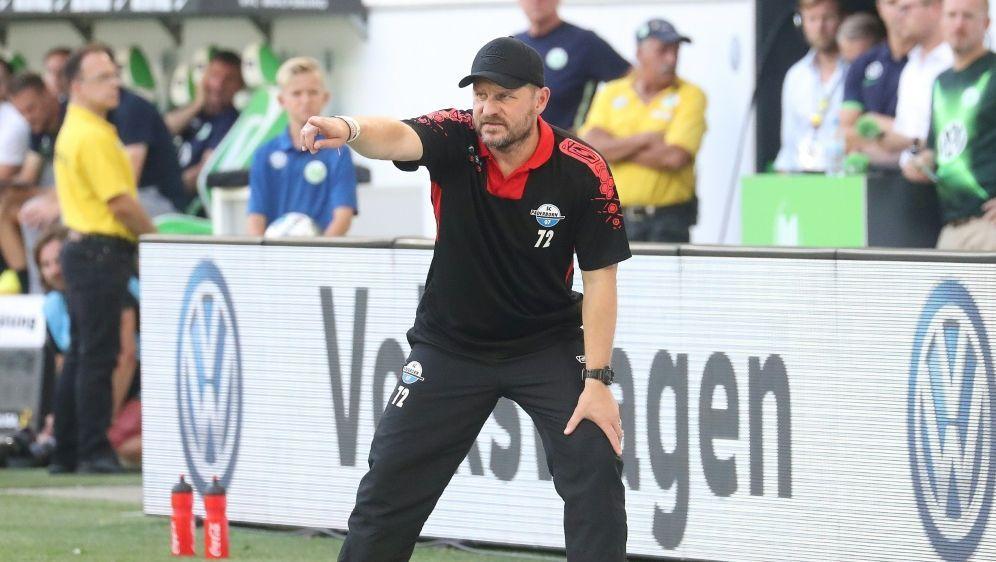 Steffen Baumgart sprach von einer verdienten Niederlage - Bildquelle: FIROFIROSID