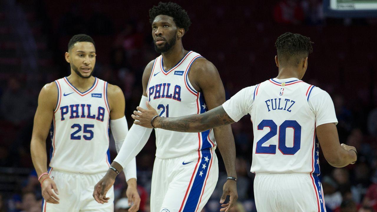3. Platz im Osten: Philadelphia 76ers - Bildquelle: 2018 Getty Images