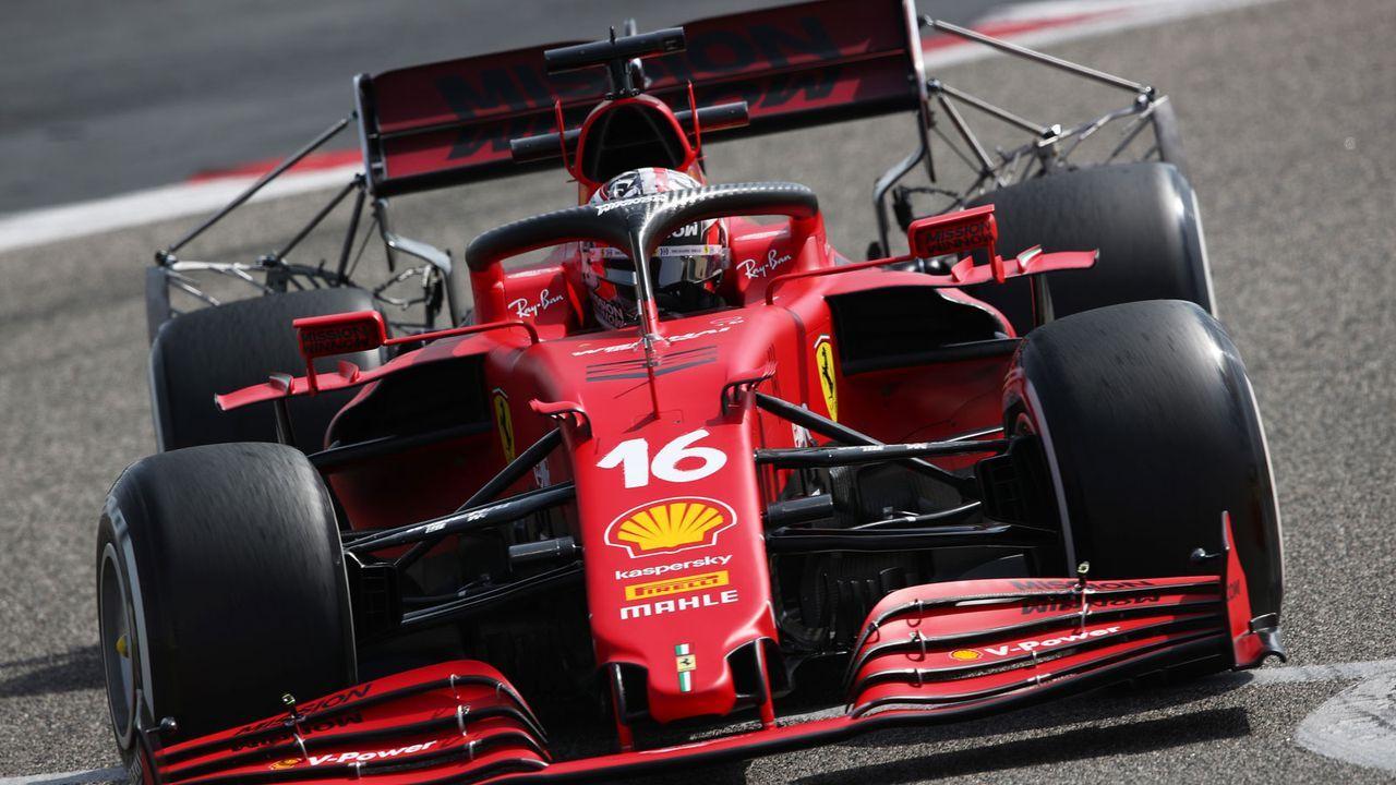Bahrain-Tests: Leclerc eröffnet für Ferrari - Bildquelle: Getty Images