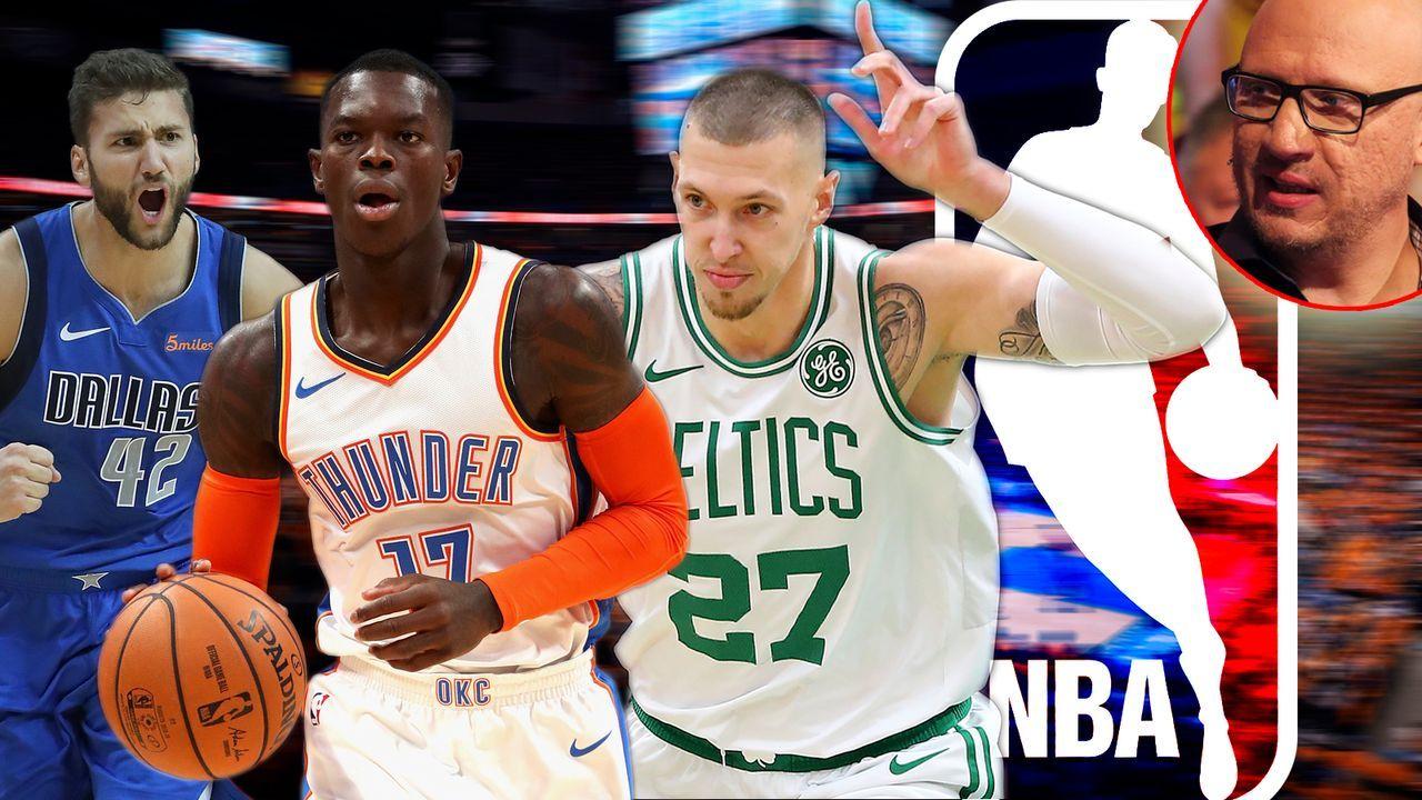 ranExperte Dre Voigt: Die Halbjahres-Zeugnisse der deutschen NBA-Stars - Bildquelle: 2019 Getty Images/imago