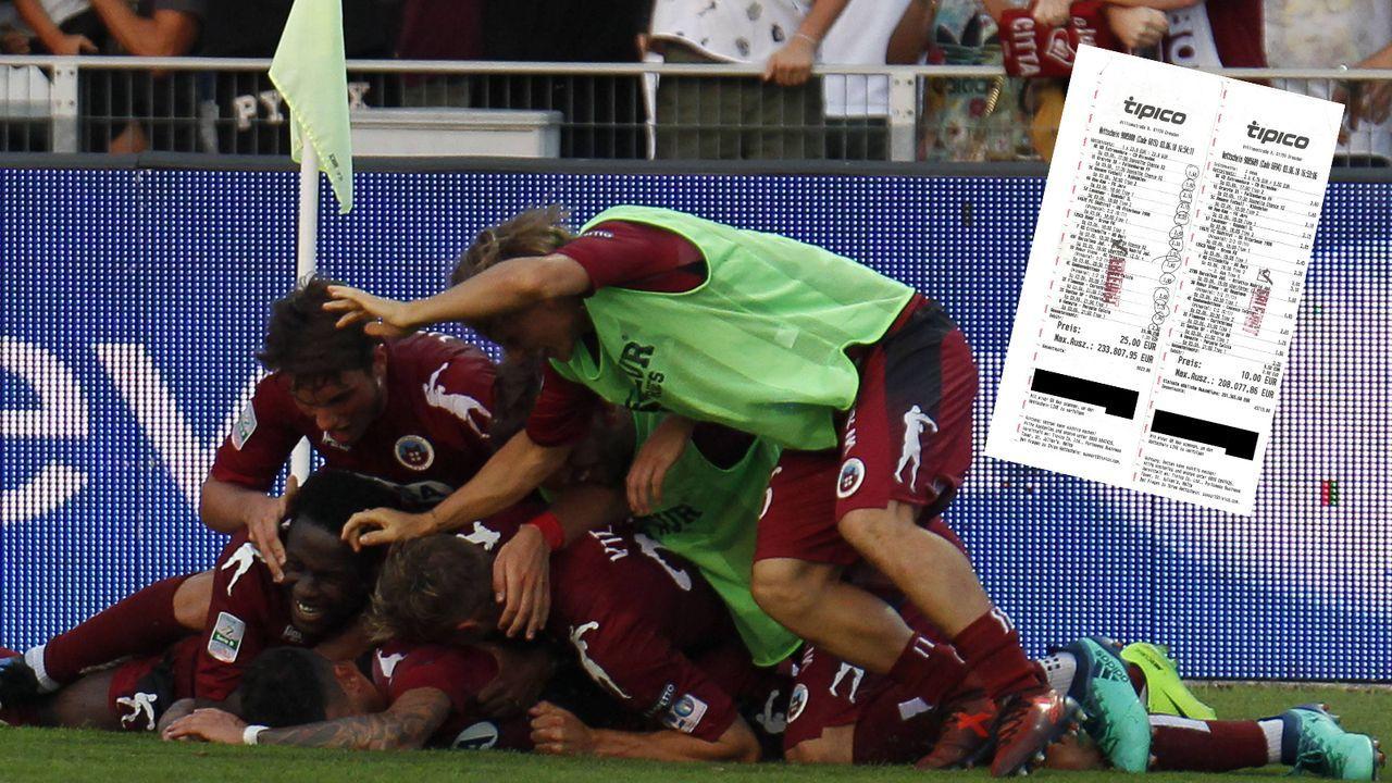 Auf 14 Spiele gesetzt: Fußball-Fan räumt 441.850 Euro ab - Bildquelle: imago/LaPresse