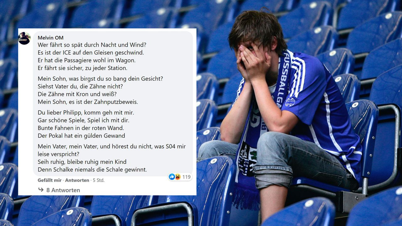 Der Schalker Erlkönig - Bildquelle: facebook.com/ransport/2007 Getty Images