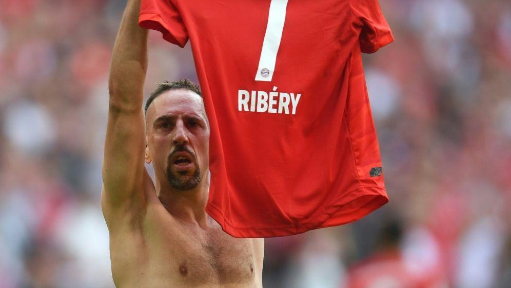 """Ribery: """"Der Film ist noch nicht beendet."""" - Bildquelle: AFPSIDCHRISTOF STACHE"""