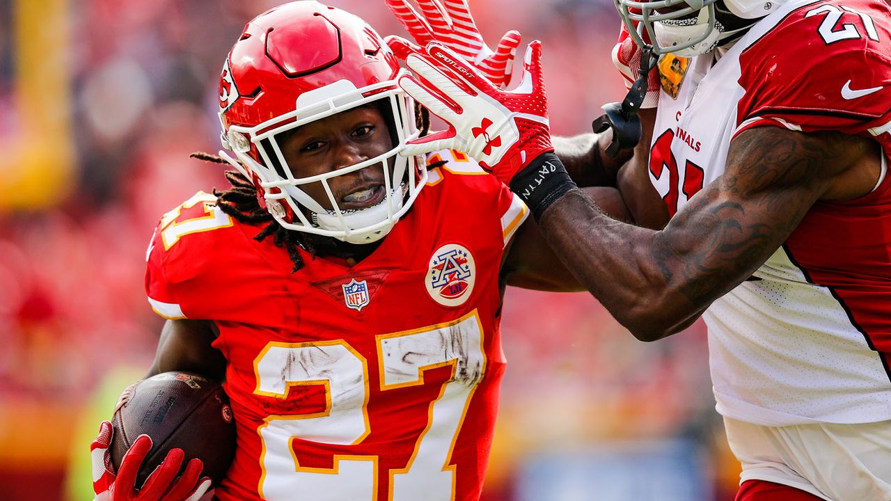 Kareem Hunt - Bildquelle: 2018 Getty Images