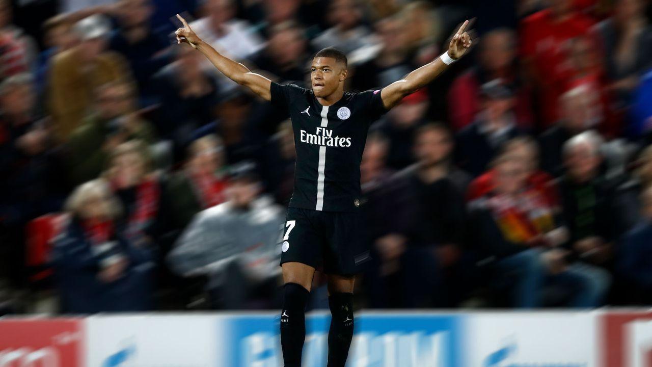 12. Platz: Paris St. Germain 2018/19 - Bildquelle: 2018 Getty Images