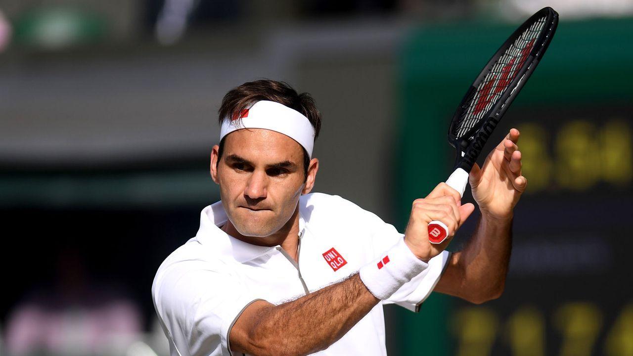 Platz 2: Roger Federer (Schweiz) - Bildquelle: getty