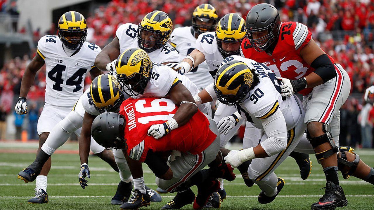 Michigan Wolverines – Ohio State Buckeyes - Bildquelle: 2016 Getty Images