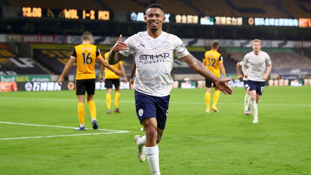 Manchester City stellt mit Sieg über Wolverhampton Uralt-Rekord ein - Bildquelle: imago images/PA Images