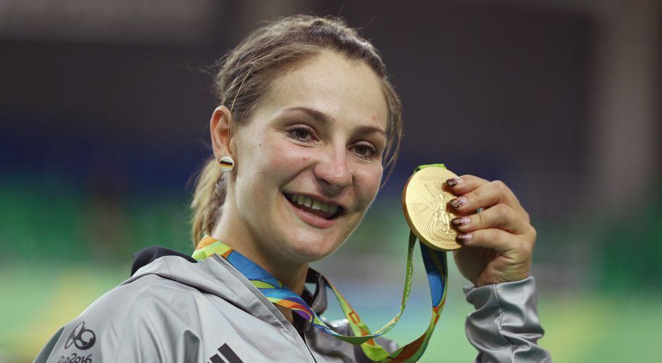 Kristina Vogel (Bahnrad/Gold) - Bildquelle: 2016 Getty Images