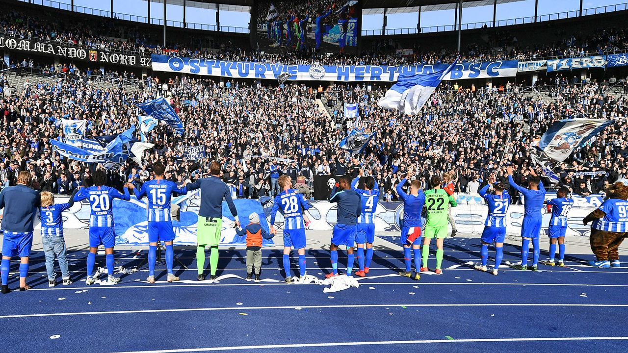 Platz 14: Hertha BSC - Bildquelle: imago images / Bernd König