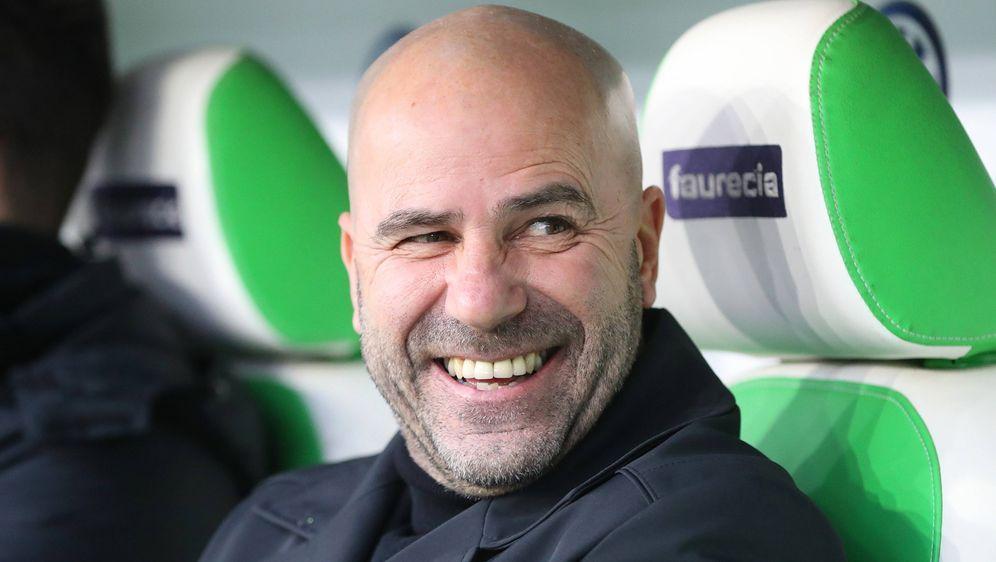 Bosz feiert gegen Wolfsburg seinen ersten Sieg mit Bayer - Bildquelle: Imago