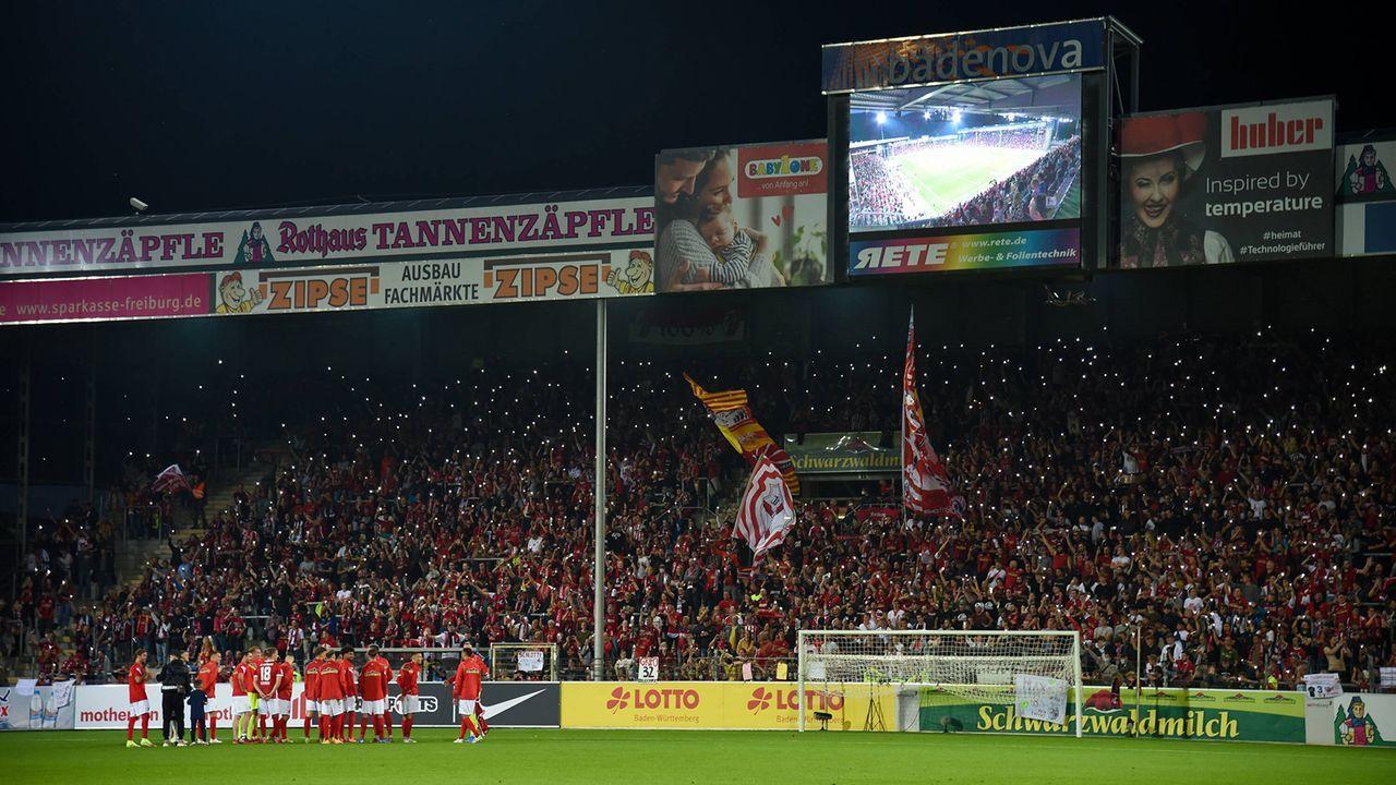 So emotional lief der Abschied vom Dreisamstadion - Bildquelle: imago images/Beautiful Sports