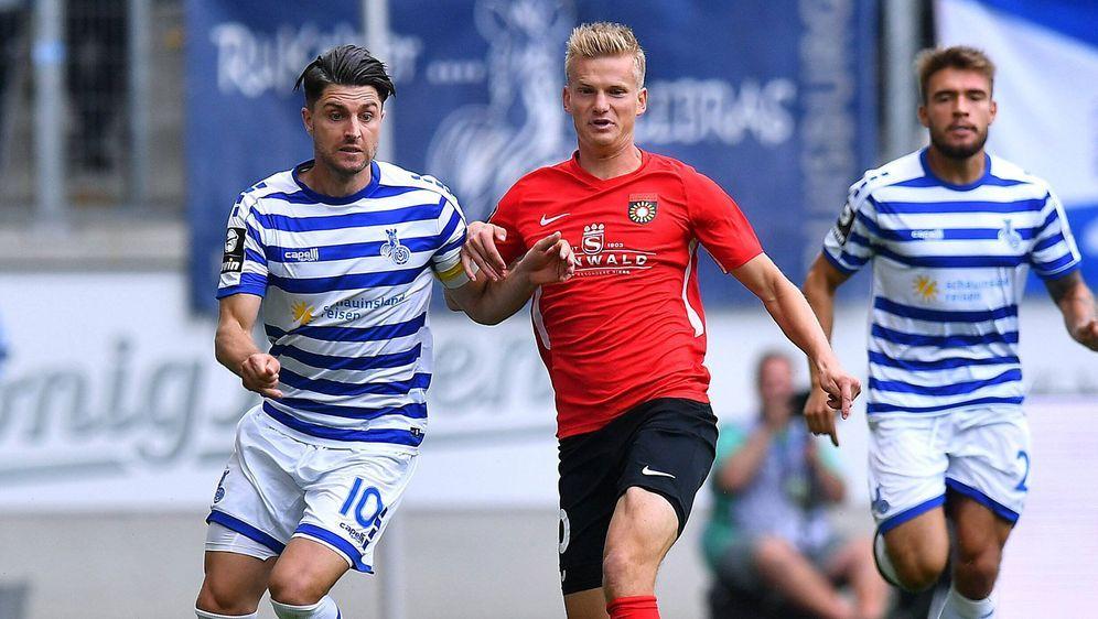 Duisburg gewann sein Auftaktspiel in der Dritten Liga - Bildquelle: imago sportfotodienst