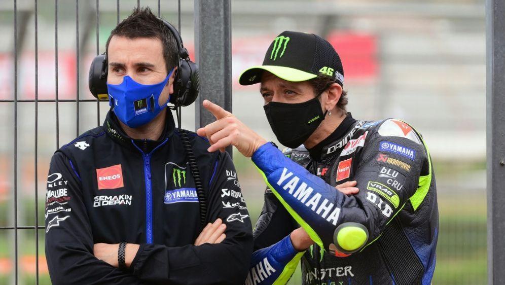 Rossi (r.) ist heiß auf Erfolge - Bildquelle: AFPSIDLLUIS GENE