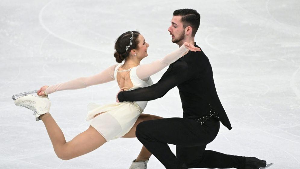 Annika Hocke und Robert Kunkel starten beim Grand Prix - Bildquelle: AFPSIDJONATHAN NACKSTRAND