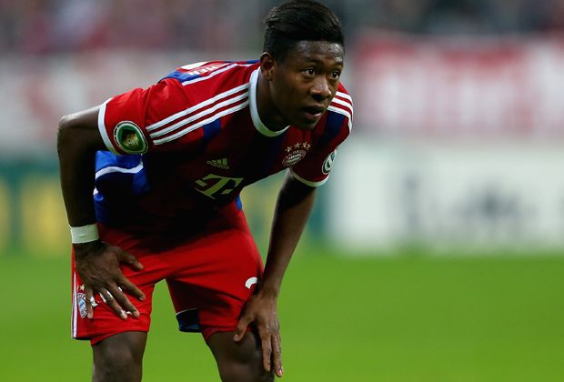 Nicht dabei: David Alaba (FC Bayern München) - Bildquelle: 2015 Getty Images