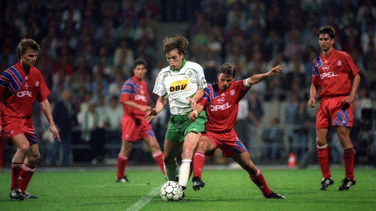 Saison 1992/93 - Bildquelle: imago/Schumann