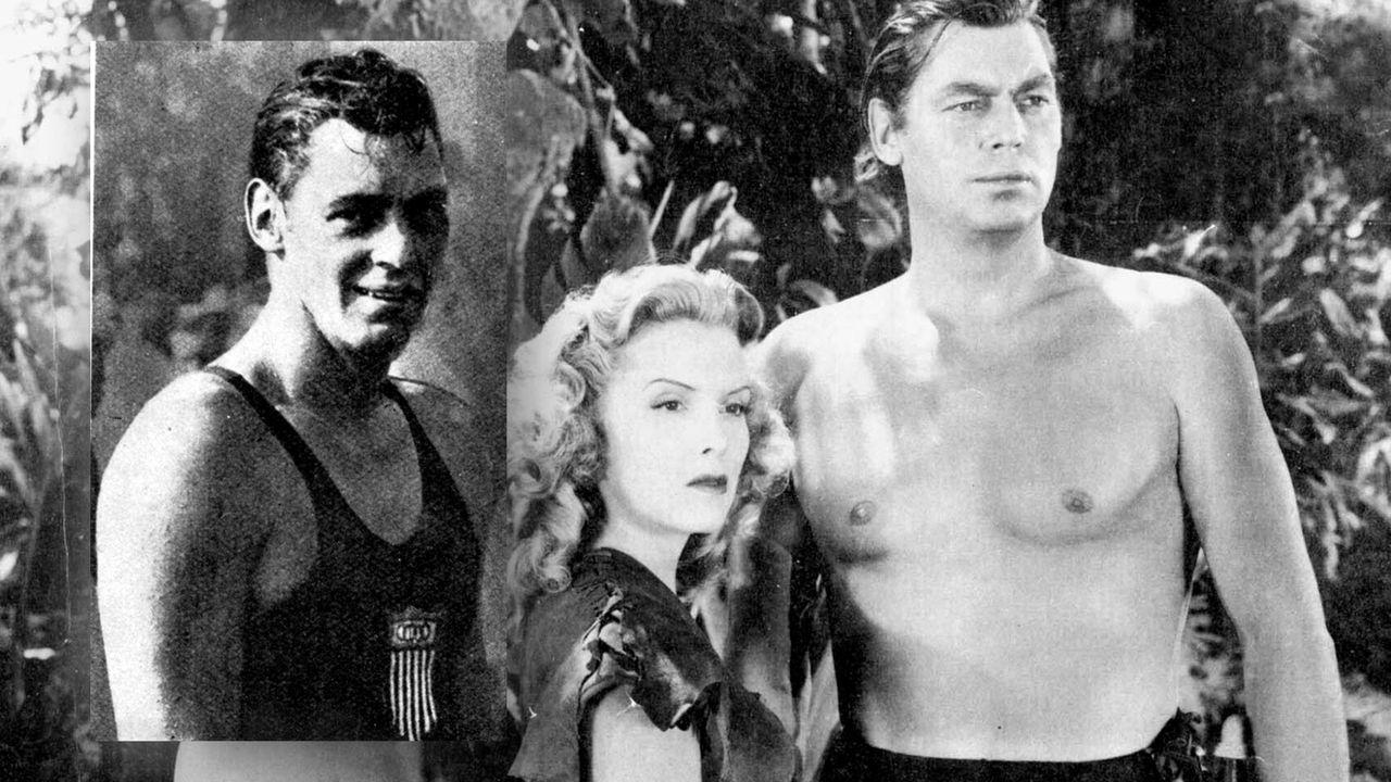 """Johnny Weissmüller alias """"Tarzan"""" (Schwimmen) - Bildquelle: Imago Images"""