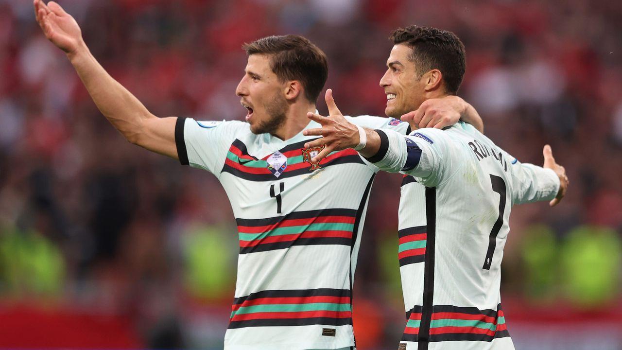 Aber egal - am Ende gewinnt trifft Ronaldo und Portugal gewinnt - Bildquelle: getty