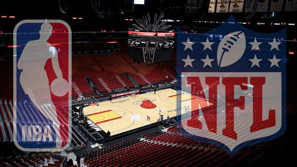 In der Arena der Chicago Bulls können aktuell keine Spiele stattfinden