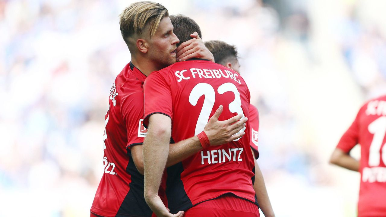 Platz 1 - SC Freiburg - Bildquelle: imago/Eibner