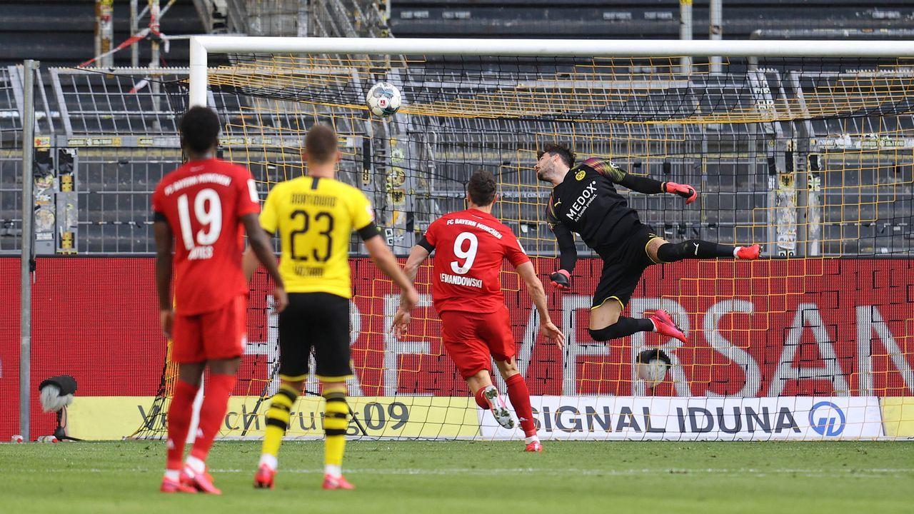 Triumph in Dortmund - Meilenstein zum Meistertitel - Bildquelle: JŸrgen Fromme/firo Sportphoto/POOL