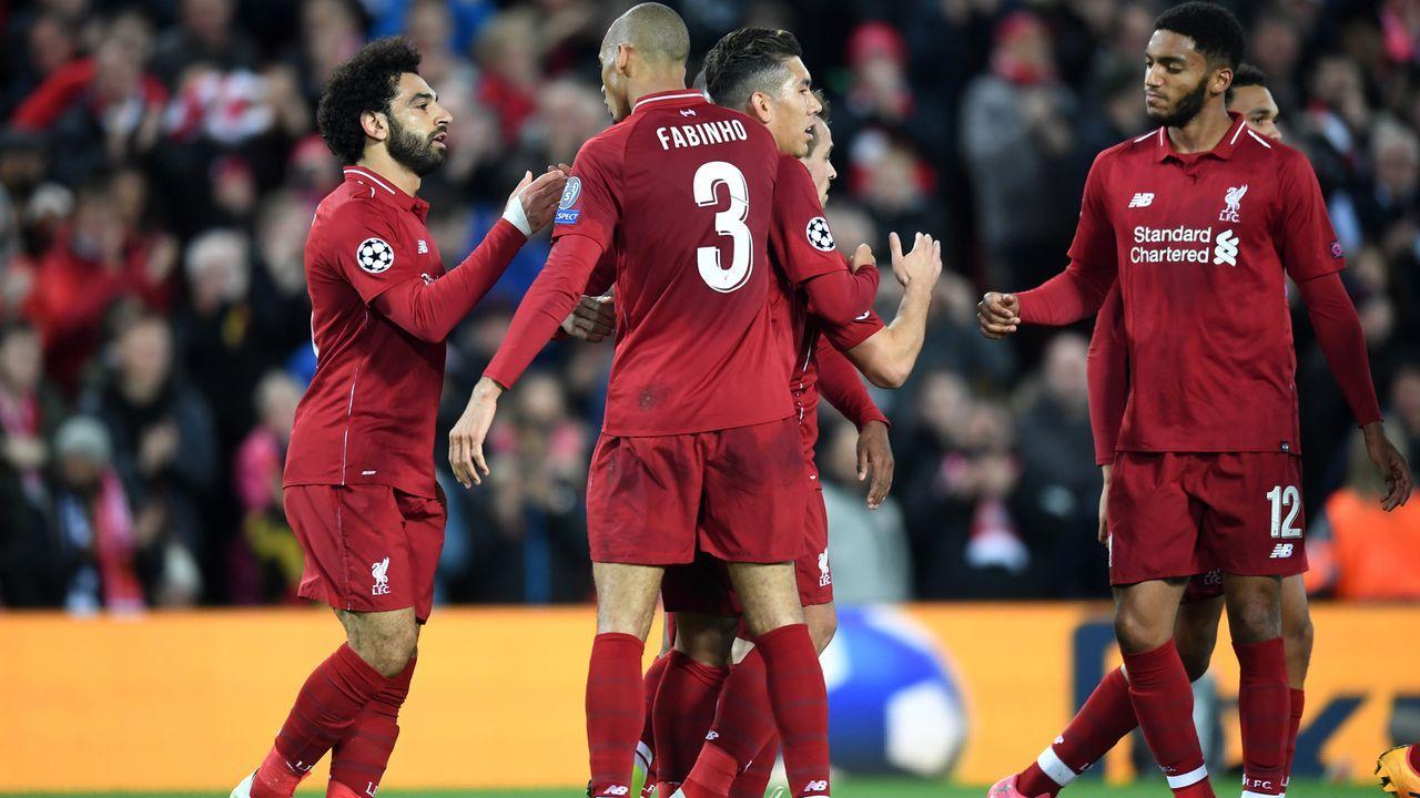 Platz 3 - FC Liverpool - Bildquelle: 2018 Getty Images
