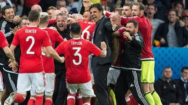Wales vs. Belgien - Bildquelle: imago/Sven Simon