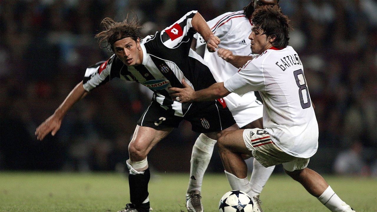 2002/03 - Juventus Turin - AC Mailand - Bildquelle: Imago Images