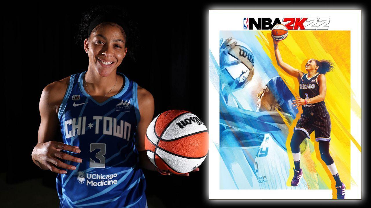 """WNBA 25th Anniversary Edition"": Candace Parker - Bildquelle: imago images/ZUMA Wire, Twitter/NBA2K"