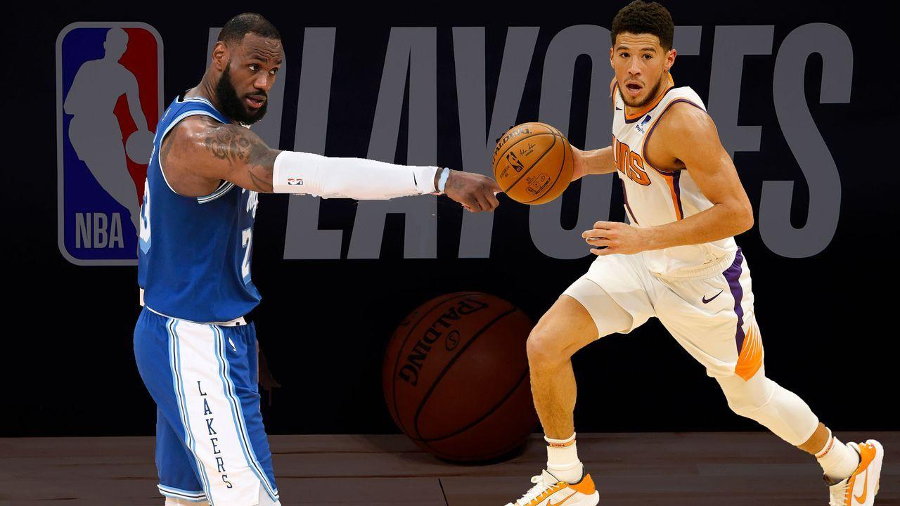 Los Angeles Lakes (7) vs. Phoenix Suns (2) - Bildquelle: 2020 Getty Images