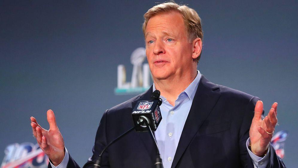 Als Commissioner leitet Roger Goodell seit 2006 die Geschicke der NFL. - Bildquelle: Imago