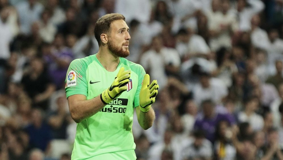 Bleibt vorerst bei Atletico Madrid: Jan Oblak - Bildquelle: PIXATHLONPIXATHLONSID