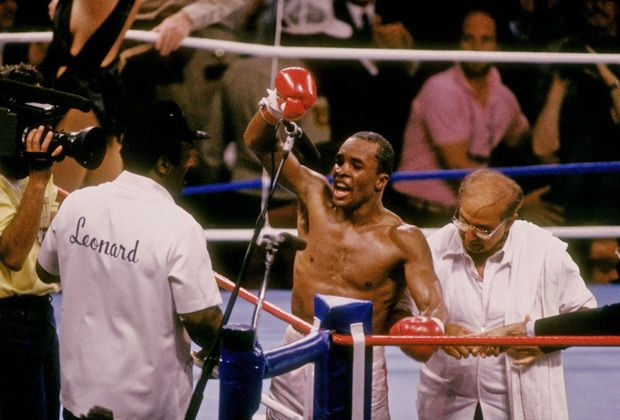 Sugar Ray Leonard vs. Marvin Hagler