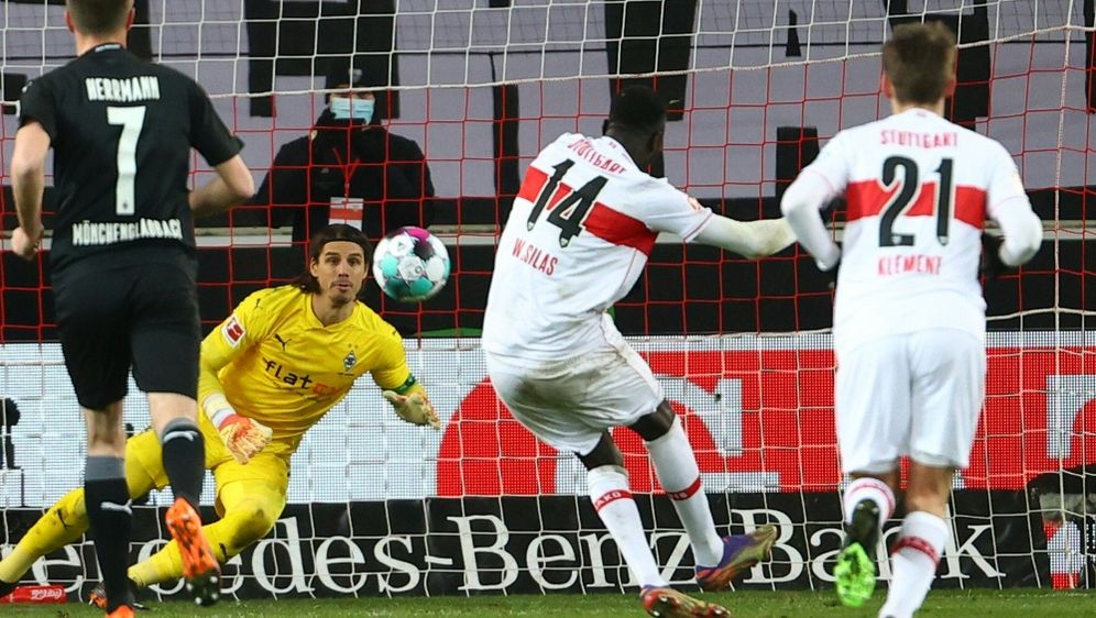 Silas Wamangituka rettet VfB einen Punkt - Bildquelle: AFPSIDKAI PFAFFENBACH