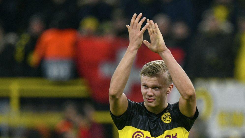 Haaland feierte ein starkes CL-Debüt für Dortmund - Bildquelle: AFPSIDINA FASSBENDER
