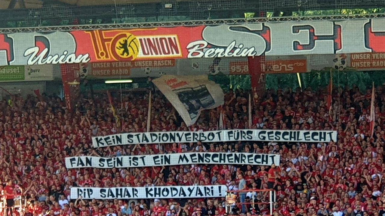 Fans von Union Berlin - Bildquelle: Twitter Oliver Moody